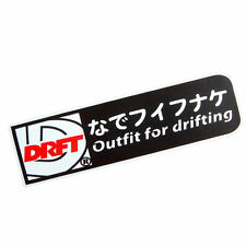 Outfit for drifting Set up tuning JDM stickers decals racing car part accesory W
