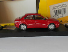 Alfa Romeo 156 Red Giocher 1/43 White Metal Mint in Box GR A02