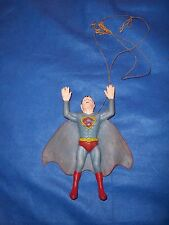 "Vintage 1973 Ben Cooper Rubber Dangling ""Superman"" 7"" Action Figure"