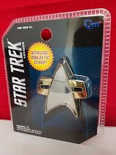 Star Trek Voyager DS9 Official Starfleet Communicator Badge Pin QMx Replica