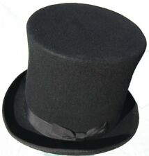 Stoker style tall Brunel top hat - size medium