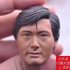 "custom made 1/6 Head Sculpt Chow Yun Fat A Better Tomorrow for 12"" Body toys"