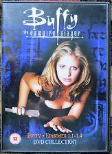 Buffy the Vampire Slayer DVD Episodes 1.1-1.4 (12) 1996-97 Sarah Michelle Gellar