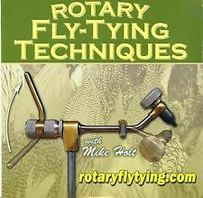 Rotary Fly Tying by Mike Holt (Fly Tying Tutorial DVD)