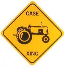 CASE XING  Aluminum Tractor Sign  Won't rust or fade