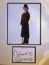 RICHARD E. GRANT - HARRY POTTER FILM ACTOR  - SIGNED COLOUR PHOTO DISPLAY