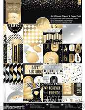 Papermania Ultimative A4 papier cake topper etikett 48 pk Forever Friends
