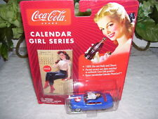 JOHNNY LIGHTNING COCA COLA CAR W/ CALENDAR GIRL SERIES '49 MERCURY 2003