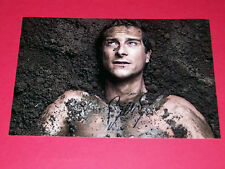 BEAR GRYLLS HAND SIGNED 12X8 AUTOGRAPH PHOTO MAN VS WILD BORN SURVIVOR
