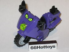 LEGO Batman 7779 Catwoman Purple Motorcycle Minifigure New