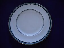 NEW ROYAL DOULTON - COUNTESS  27CM  DINNER PLATE White with Blue& Platinum Band