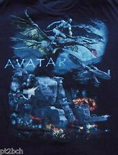 James Cameron's Avatar Graphic Black T-Shirt Tee Youth XL 100% Cotton