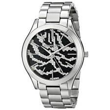 Michael Kors MK3314 Lady's Black Dial Steel Bracelet Crystal Watch
