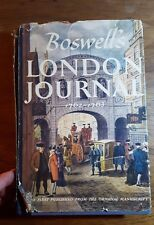 Boswell's London Journal, 1762-1763, James Boswell, (1950), 1st edition
