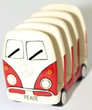 Toast Rack Dakota Campervan Kombi Hippie Peace Design Sandwich Toast Rack 13 cm