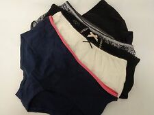 MARKS AND SPENCER FIVE PAIRS LADIES BIKINIS SIZE 10 BNWOT REF: 4778