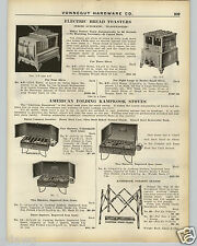 1926 PAPER AD Toastmaster Commercial Hotel Restaurant Bread Toaster 4 8 12 Slice