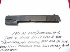 1911  1911 A1 COLT/REMINGTON RAND SLIDE/ TYPE 2 EARLY WWII