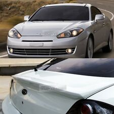 Rear Trunk Wing Lip Spoiler unpainted for HYUNDAI 2003 - 2008 Tuscani Tiburon