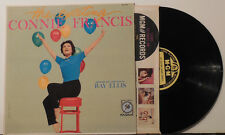 CONNIE FRANCIS The Exciting.. '59 MGM RARE first yellow label MONO NM-
