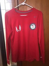 Nike Team USA Olympic Track & Field Marathon Long Sleeve Shirt RARE Sz. M