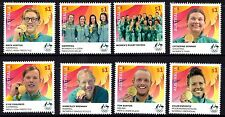 Australia 2016 Olympic Games Rio Gold Medalists Complete Set of Stamps MNH