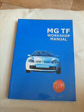 MG TF Workshop  Car Manual The Official MG TF Workshop Book