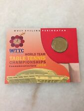 (JC) World Team Table Tennis Championships Coin Card 2016