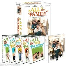 All In The Family The Complete Series Boxset Giftset (28-DVD 2012) Archie Bunker