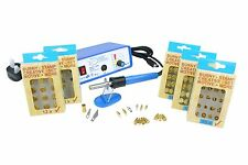 Startec Multi Heat Pyrography Kit with 14 Tips & 5x Woodburning Stamp Sets M9196