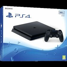 BRAND NEW SEALED LATEST SONY PLAYSTATION 4 PS4 SLIM CUH-2016A 500GB CONSOLE