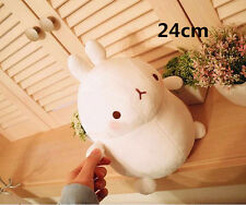 9 inch White Molang Cute Rabbit Toy Cushion Plush Stuffed Doll 24cm Girls Gift