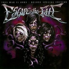 FREE US SH (int'l sh=$0-$3) ~LikeNew CD Escape the Fate: This War Is Ours [2 Dis