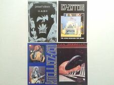 Lot  4  Cartes Postales   LED  ZEPPELIN