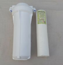 "For RO,UV,Water Purifier 10""Pre Filter Bowel+10""Kemflo Spun PP Filter+Connectors"