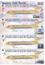 """Print Scale Decals 1/72 HANDLEY PAGE VICTOR British """"V"""" Jet Bomber"""