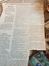 M8-3 Ephemera 1885 Article Khartoum Egypt War Latest Wolseley