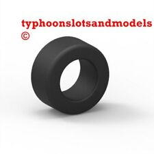 TEAM SLOT N0013 High Grip Rubber Tyres x 4 - 18 x 9.5mm - New