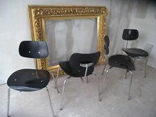 4er Satz Chair Wilde & Spieth Egon Eiermann Stuhl SE 68 60er Jahre 4 Stück