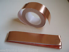 4 MT x 50mm GUITAR SHIELDING PICKUP COPPER FOIL EMI - CINTA DE COBRE GUITARRA