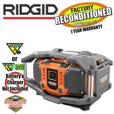 Ridgid R84083 Jobsite Radio (Tool Only) ZRR84083 Factory Reconditioned