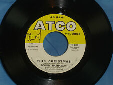 Donny Hathaway: This Christmas / Be There [Unplayed Copy]