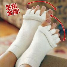 1 Pair Hot Sale Foot Toes Alignment Socks Stretch Tendons Five Toes Sock