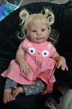 Ooak Reborn newborn real life  baby girl Callie     Baby  art doll