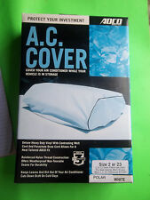 NEW RV AIR CONDITION COVER POLAR WHITE  SIZE 2 OR 3 FREE SHIPPING