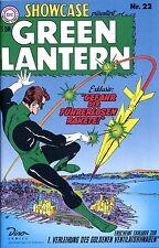 DC-SHOWCASE #22 GREEN LANTERN (deutsch) Erstausgabe GRÜNE LATERNE German Reprint