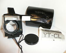 RARE GENUINE YASHICA YT-CL CLOSE UP ADAPTER for the YASHICA T 35mm COMPACT