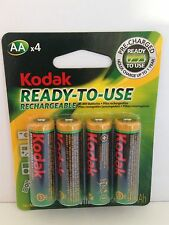 12 x KODAK AA Rechargeable Batteries Ni-MH Pre-Charged! For Digital Camera etc