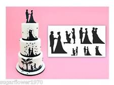 Patchwork Cutters Wedding Silhouette Set Sugarcraft  NEXT DAY DESPATCH