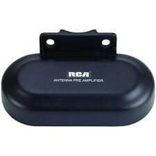 RCA Outdoor Antenna Preamplifier Pre Amplifier TV Range Reception Signal Booster
